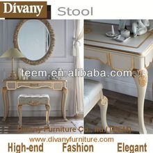 blue amber classic modern dressing table with mirrors