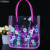 promotion clear shopping pvc bag with custom print