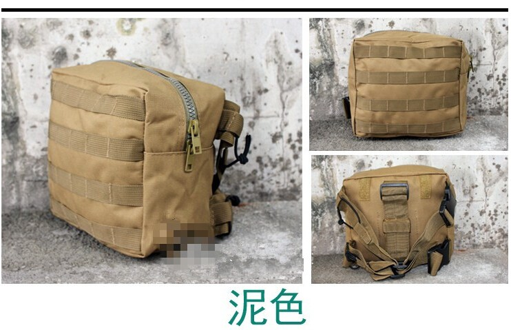 Outdoor army pocket camouflage waist bag military travelling hiking bag