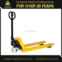 3000kg Hydraulic Pallet Truck/Industrial Trolley with Wheels & Handle