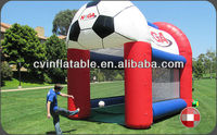 inflatable football target/inflatable soccer target