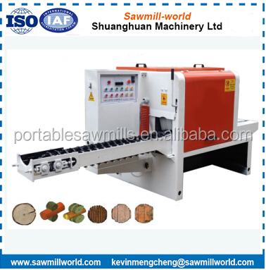 Multi Blade Rip Circular Saw Machine For Logs