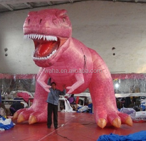 4.2m TALL red inflatable dinosaur /T-REX/cartoon/animal/balloon W496
