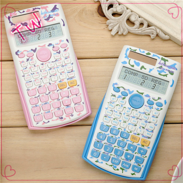 Latest Thailand top selling fancy stationery promotion custom plastic mini calculator with logo