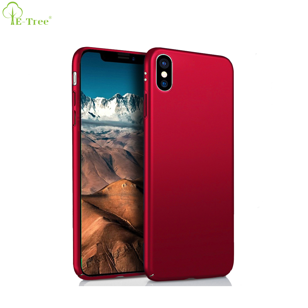 Cell Phone Accessories Manufacturer Matte Hard Protective Case Phone Cover For Apple iPhone X