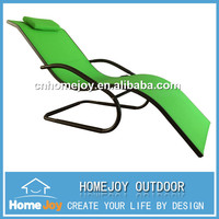 High quality beach sunbed with canopy, poolside sunbed
