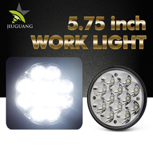 Best portable round 36w 5.7 inch 12v truck led work light