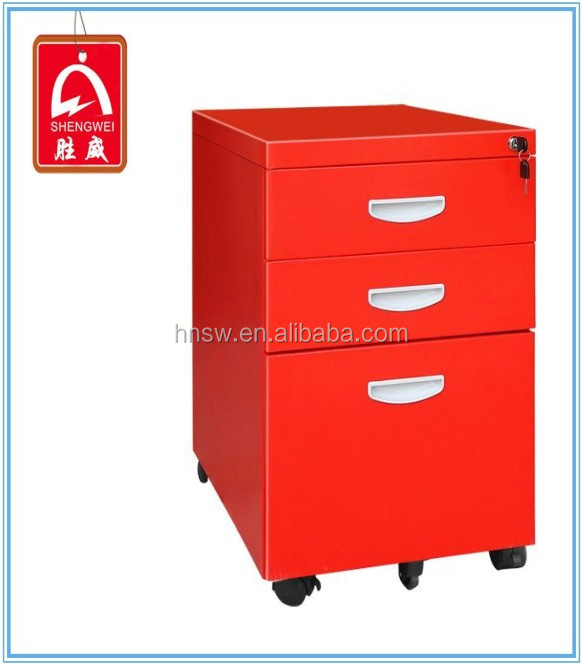 high quality steel mobile spice drawer cabinet