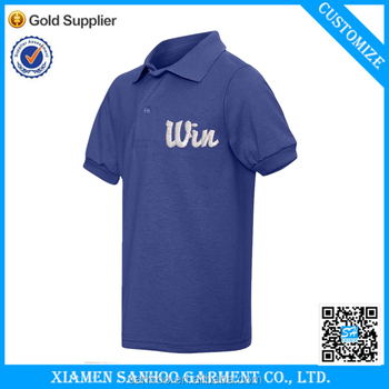 Cheap Brandless Embroidery Polo Tee Shirts Wholesale China