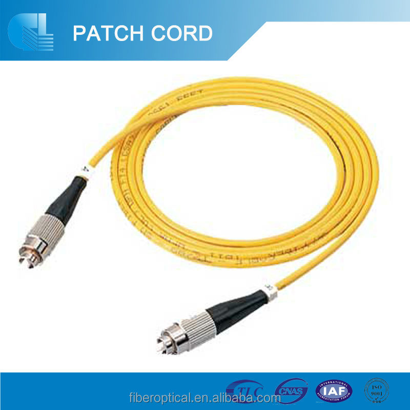 3m FC/APC-FC/APC Polish Single Mode Fiber Optic Patch Cable