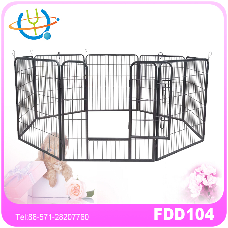 Heavy Duty Pet Playpen Dogs Exercise Pen Metal Square Playpen for Dog