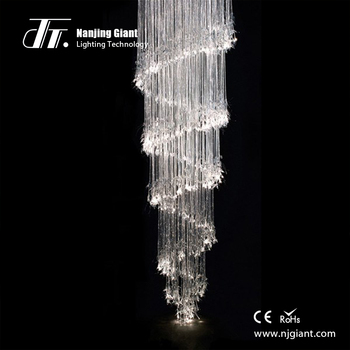 Faber Optic Chandelier For Home Lighting Fiber Optic Side Glow Cable Lighting