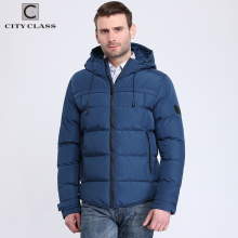Top Selling Fashion Male Thick Warm Windproof Outerwear New Style Casual Cotton-padded Hooded Winter Jacket mens