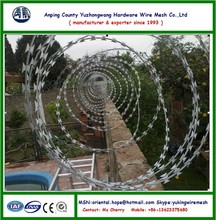 Concertina barbed wire tape 10m,11m,12m, high quality, good price ( Anping factory,China )