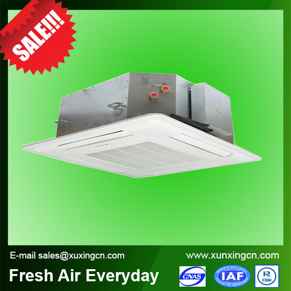 Cassette hydronic fan coil unit ceiling concealed fan coil unit central air conditioning price