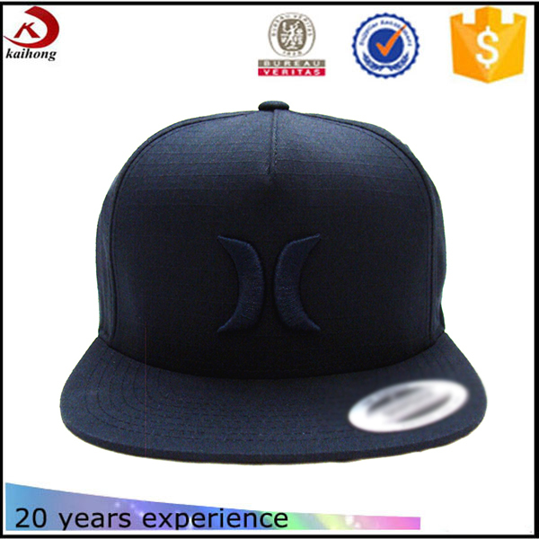 custom snapbacks low crown flat bill hat for boys caps factories in china