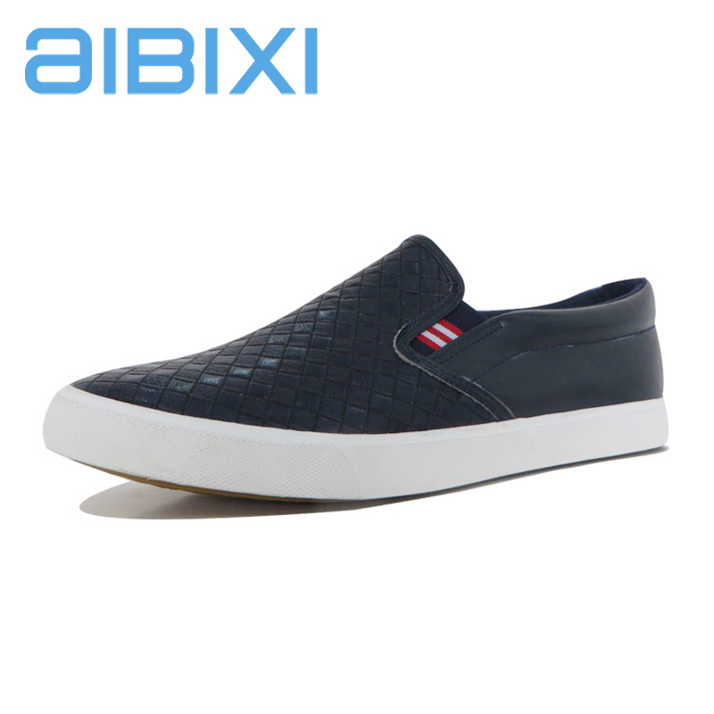 AIBIXI New Product Famous Black School Men Casual Shoes Brands In China