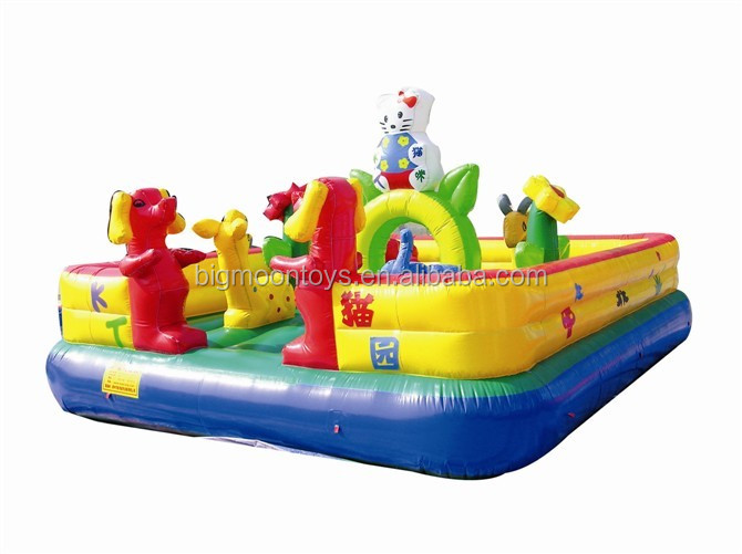 giant inflatable playland fun city playground for rent