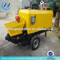 low price of concrete pumping machinery trailer mounted concrete pump