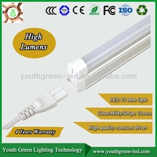 5 Years Warranty, Led T5 and T8 tube From 5w to 20w with CE and UL certificates&3 years warranty catalog with price list