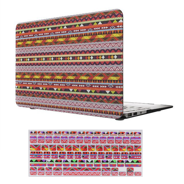 Laptop Pattern Custom Design Case and Keyboard Cover for MacBook