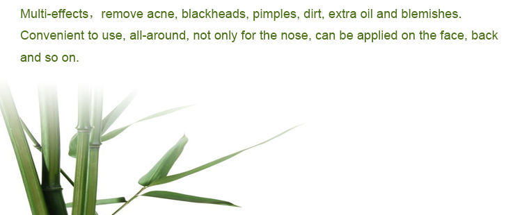 Bamboo Charcoal OEM Private Label Blackhead Peel Off Black Head Removal Mask on Amazon Hot Sale