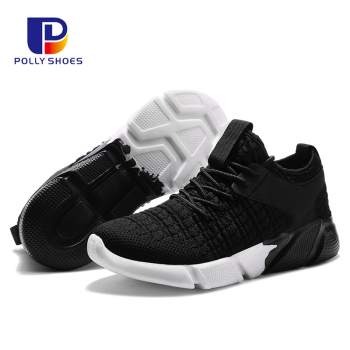 Fly Fabric Woven Casual Men Sneaker Shoe