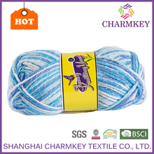 popular product charkey recommend order yarn online for blanket 2-ply acrylic yarn