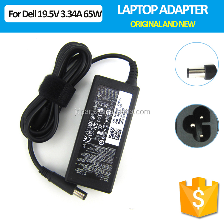 65W AC Power adapter charger 19.5V 3.34A best price laptop charger for Dell 0K9TGR HA65NE1-00 LA65NS2-01