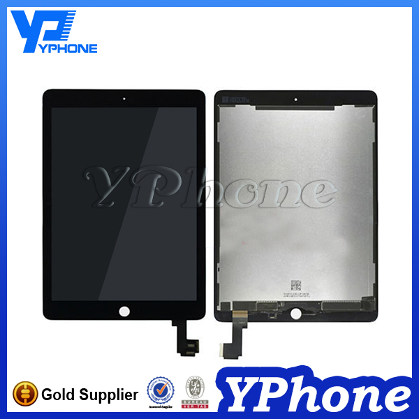100% Original hot selling lcd screen for ipad 6 lcd,for ipad 6 lcd display,for ipad air 2 screen replacement