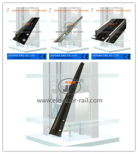 Elevator Parts T90/B Elevator Guide Rail t type machined elevator guide t90