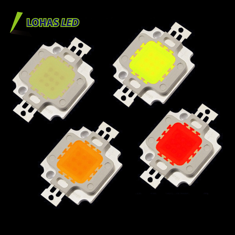 USA High lumen COB LED Chip 12V 30V 34V 10W 20W 30W 50W 100W 120W 200W Epistar chip COB LED 12V 10W LED Chip high power COB LED