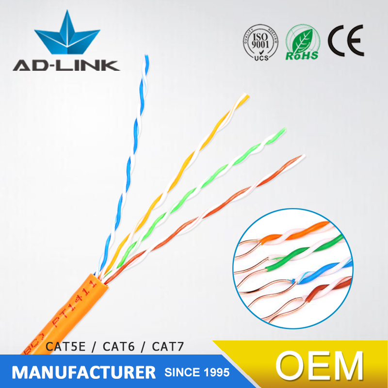 china cable manufacture utp/ftp/sftp cat5e cat6 cat7 23awg CCA