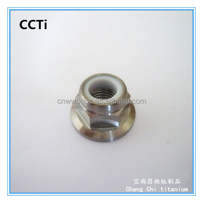 High Quality titanium spiral lock nut <strong>M10</strong> with deep price