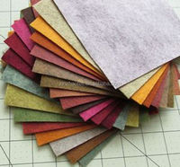 color wool felt and polyester felt fabric
