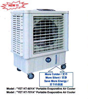 YET KT-60YA Portable Mobile Evaporative Air Cooler (Environmental Friendly)(Malaysia)