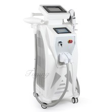 Beauty equipment OPT E- light laser Hair Removal machine with ipl and RF function