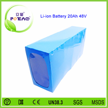 Since 2007 hot 15s6p 48v 20ah lifepo4 battery pack