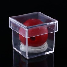 Amazing Clear Ball Through Box Illusion Magic ConJuring Prop Magician Trick Game Tool