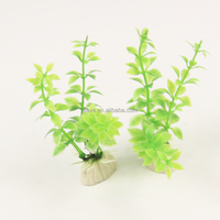 Eco Friendly No Harm Long Plastic Simulation Aquarium Green Fake Water Grass Fish Tank Ornament Decoration PF013