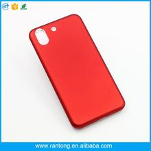 Wholesale single color slim PC+TPU hybrid phone case for huawei y6ii