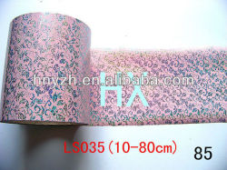 textile hot stamping foil for pvc wall panels