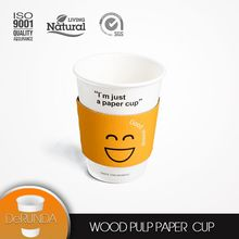 Europe market hot seller Disposable Double Wall 8oz 12oz 16oz paper cup for drinking/ Coffee/ice cream/ Paper Cup