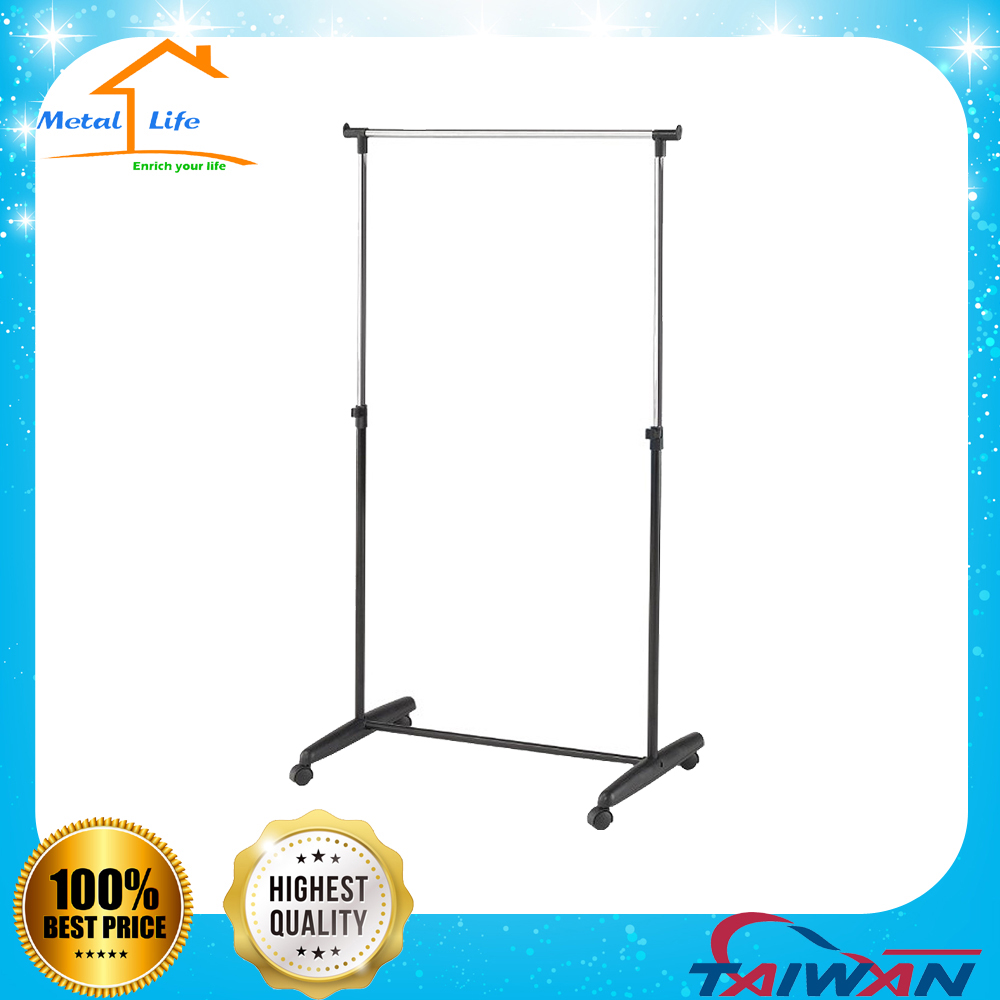 Hotel metal garment display stand