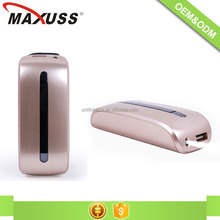 Best quality four colors available 4000mAh 18650 power bank for smartphone
