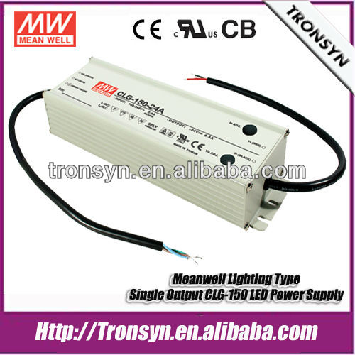 Meanwell 150W 36V 4.2A led strip driver CLG-150-36 Switching Power Supply Transformer with IP67 PFC