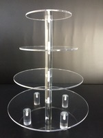 Commercial bakery cake acrylic showcase /cake display cabinet