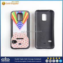 Colorful TPU Case For Samsung S5 Bumper Cover