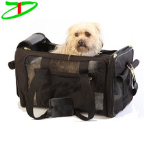 Deluxe polyester small pet cages adventure airline approved travel pet carrier
