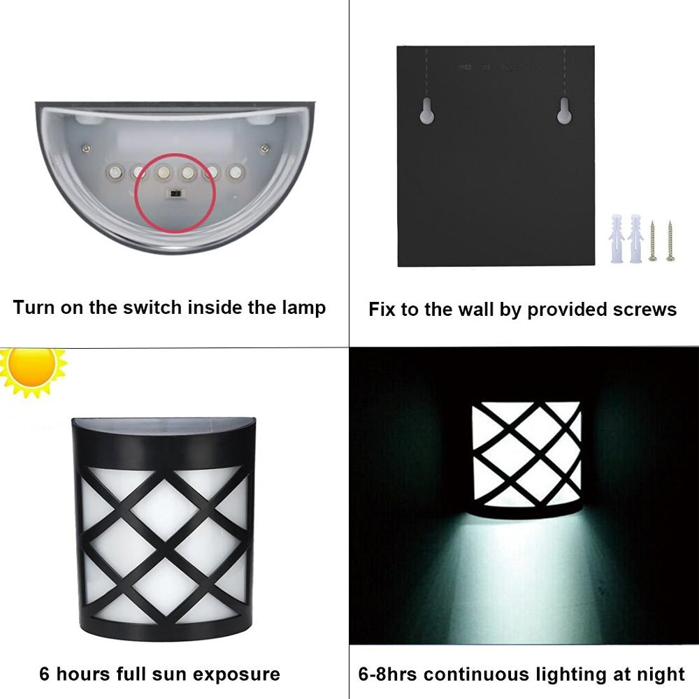 China Alibaba 130/200LM solar powered led outdoor wall light,solar led wall light,solar wall light